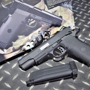 KJ 新版 KP11 KP-11 瓦斯手槍 GBB 輕量化 鋁合金彈匣 黑色 KJGSKP11B