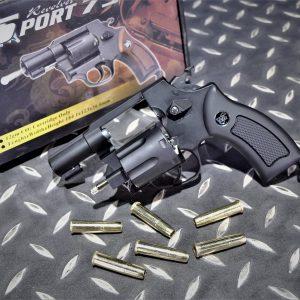 SHERIFF WG 733 M36 左輪 黑色 黑色握把 2吋 CO2手槍