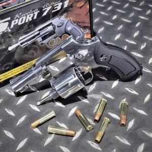 SHERIFF WG 731 M36 左輪 銀色 黑色握把 2.5吋 CO2手槍