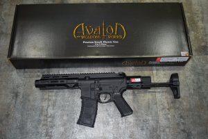 VFC AV1 M4 SI XS-TN01 AVALON CALIBUR II PDW AEG 電動槍 黑