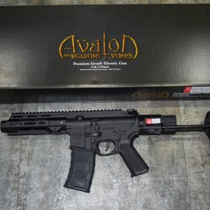 VFC AV1 M4 SI XS-TN01 AVALON CALIBUR II PDW AEG 電動槍 黑