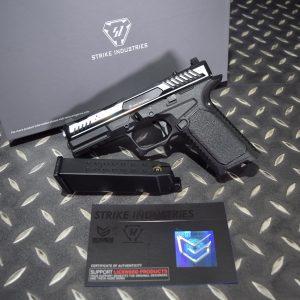 EMG SI 雙授權 STRIKE INDUSTRIES ARK-17 G17 GBB 方舟 瓦斯槍 手槍 黑銀色