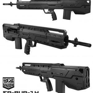 SRU M14 犢牛式套件 MARUI CYMA AEG / WE GBB SR-BUP-14