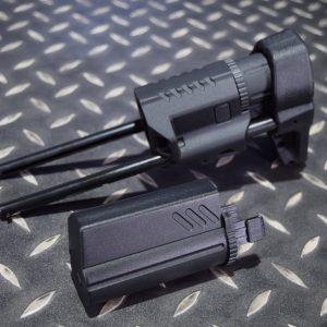 VFC QRS 伸縮 後托 槍托 M4 AVALON AEG 黑色 VF9-STK-QRSE-BK01