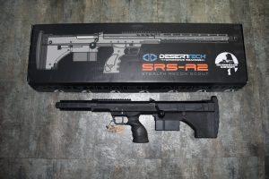 """楓葉精密代理 2020 """"SRS A2"""" 犢牛式手拉空氣狙擊槍 16吋運動版 左手 三種顏色任選"""