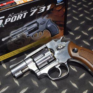 SHERIFF WG 731 M36 左輪 銀色 2吋 CO2手槍  WG-M36S2-CO2