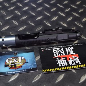 G&P MARUI MWS M4 GBB 鋁合金 槍機總成 黑色 MWS050-BK