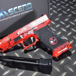 WE Ascend Deadpool DP17 G17 死侍版 GLOCK GBB 瓦斯手槍