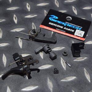 毒蛇 VIPER GBB M4 原廠槍升級三發點放 鋼製火控組