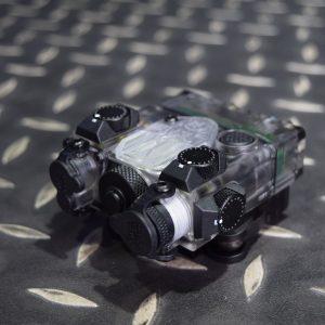 DBAL-A2 Style 雷射指示器 LED照明+綠雷射 強化塑膠外殼 透明 DBAL-GN-T