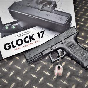 TOKYO MARUI 馬牌 GLOCK G17 含夜光罩門準星 瓦斯手槍 GBB NO-G17G3