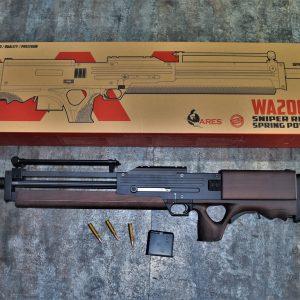 Ares Walther WA2000 金屬實木 手拉空氣狙擊槍 VSR 系統 少女前線