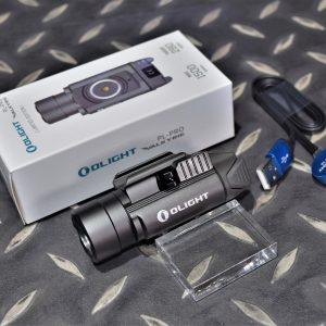 Olight PL PRO 戰術槍燈 1500流明 爆閃 含電池&磁吸式充電線 限量槍灰色 OL-37