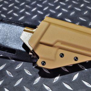 VFC P320 M17 專用 Kydex 腰帶板組快拆快拔 槍套 沙色 TMC-P320-DE
