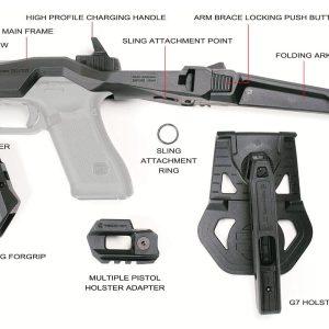 Recover Tactical 20/20 GLOCK G17 G18 G19 MG9 衝鋒套件 黑沙灰 三色