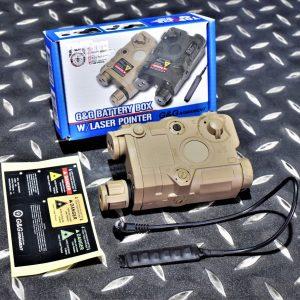 G&G 怪怪 AN/PEQ-15 紅外線功能 電池盒 雷射指標器 沙色 G-12-027-1