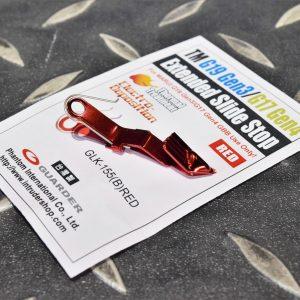 警星 MARUI G19 Gen3/G17 Gen4鋼製滑套卡榫 加長型 紅色 GLK-155(B)RED