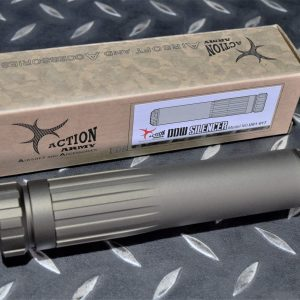 Action Army AAC AAP01 CNC 鋁合金 滅音管 沙色 U01-017-2