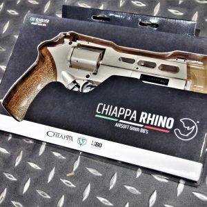 義大利 Chiappa授權 白犀牛Rhino 50DS 6mm CO2 左輪手槍 銀色