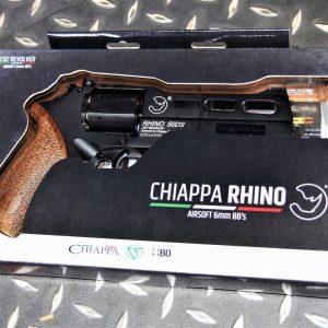 義大利 Chiappa授權 黑犀牛Rhino 50DS 6mm CO2 左輪手槍 黑色