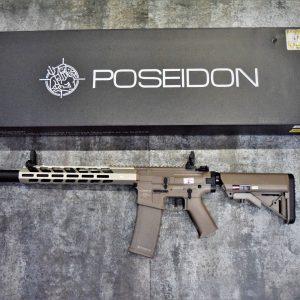 POSEIDON 海神 復仇者 Avenger6 AEG 電動槍 長槍 新版 電子扳機 V2 沙色