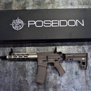 POSEIDON 海神 復仇者 Avenger3 AEG 電動槍 長槍 新版 電子扳機 V2 沙色