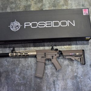 POSEIDON 海神 復仇者 Avenger4 AEG 電動槍 長槍 新版 電子扳機 V2 沙色