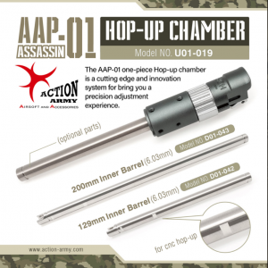ACTION ARMY AAC for AAP01 6.03mm / 200mm 精密管 D01-043