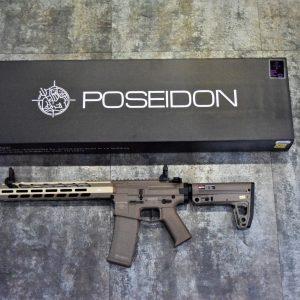 POSEIDON 海神 復仇者 Avenger5 AEG 電動槍 長槍 新版 電子扳機 V2 沙色