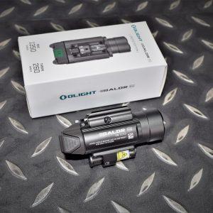 OLIGHT Baldr Pro 1350流明 260米遠射 綠雷射槍燈 槍灰色 附電池 OL-52