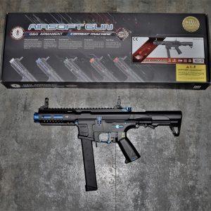 G&G 怪怪 ARP-9 ARP9 9mm 造型 AEG 電動槍 3發點放 電子扳機 無附魚骨片 黑藍色