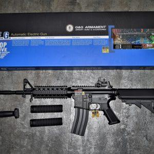 G&G 怪怪 TR16 R4 COMMANDO M4 全金屬電動槍 AEG TGR-016-COM-BBB-NCM