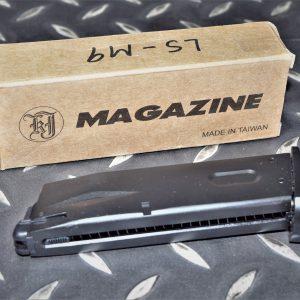 LS M9 GBB 金屬瓦斯彈匣 KJ可用 黑色 LSA-M9-BK