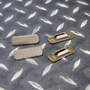 SI 風格 M-LOK 魚骨護木 保護片 強化尼龍 一組四片 沙色  JDT433-DE