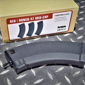 KWA KSC RONIN47 KAIJU47 浪人47 怪獸47 AEG2.5 電動槍 120發 無聲彈匣 KWAA-R47-120