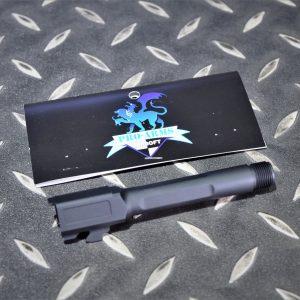 PRO-ARMS VFC G45 G19X CNC鋁合金 SAI樣式 螺牙外管 黑色 PRO-G19BRL-BK