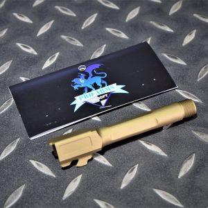 PRO-ARMS VFC G45 G19X CNC鋁合金 SAI樣式 螺牙外管 金色 PRO-G19BRL-GD