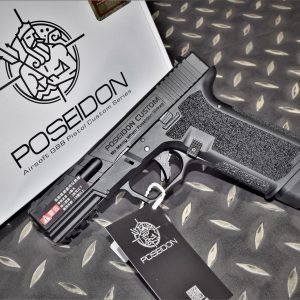 海神 Poseidon P17 G17 EVO II CERAKOTE GBB瓦斯手槍 黑色滑套 黑色槍身