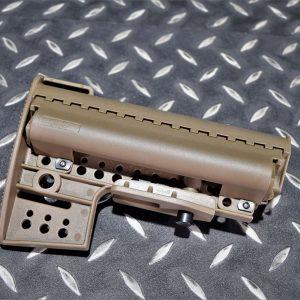 ARES VLTOR樣式 戰術 戰斧托 AEG GBB 槍托 後托 沙色 JDT439-DE