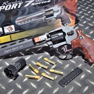 WG 703 CO2 全金屬 6MM 左輪手槍 8吋 黑色 WG-703-8B