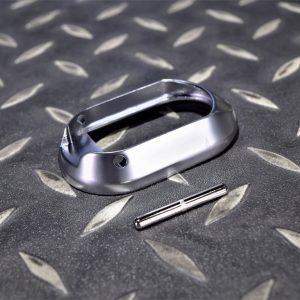 WE HICAPA 5.1 龍 手槍 GBB 彈匣井 襯裙 原廠零件 霧銀色 5.1 MAGWELL SET (SV)