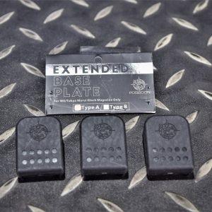 海神 POSEIDON GLOCK G17 G18 G19 G34 競技型彈匣底板 3入裝 A款 黑色 MGF-BK