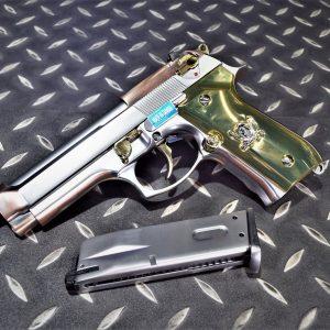 WE M9 M92 海盜版 單連發 GBB 瓦斯手槍 黃金海盜 金斧頭 WE-M9-GAX