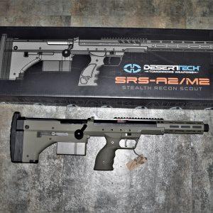Silverback Airsoft SRS-A2 / M2 犢牛式手拉空氣狙擊槍 16吋 運動版 M-LOK魚骨 三色可選