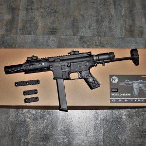 WE R5C PPC 9mm PCC 樣式 GBB 瓦斯槍 步槍 長槍