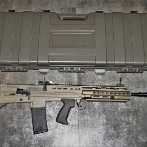 ARES L85A3 犢牛式 鋁合金護木 AEG 電動槍 附硬殼槍箱 沙色 AR-057E