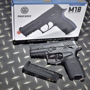 VFC SIG SAUER 授權 M18 P320 GBB 瓦斯手槍 黑色