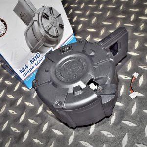 G&G 怪怪 M4/M16 2300發裝電動彈鼓 (不含電池) G-08-170-1