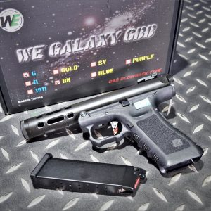 WE GLOCK GALAXY 魯格.22LR AAP01 GBB 瓦斯手槍 黑色