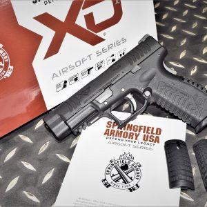 Air Venturi 授權刻字 WE 代工 XDM4.5 GBB 瓦斯槍 6mm手槍 黑色